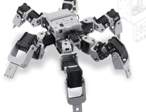Hexapod KingSpider van robotis!