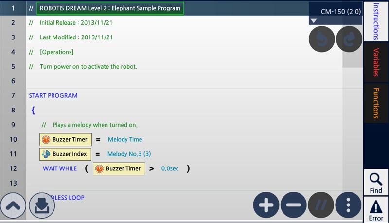 leren programmeren met Robot Timmy R+ m.Task